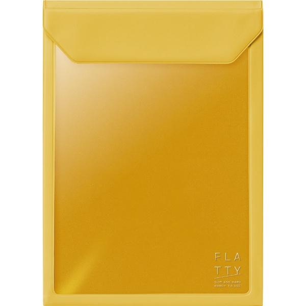 キングジムKINGJIMFLATTYA5サイズ縦黄色