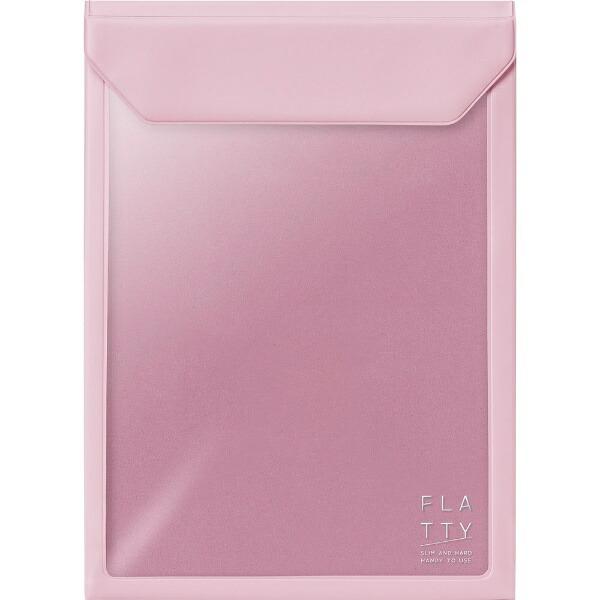 キングジムKINGJIMFLATTYA5サイズ縦ピンク