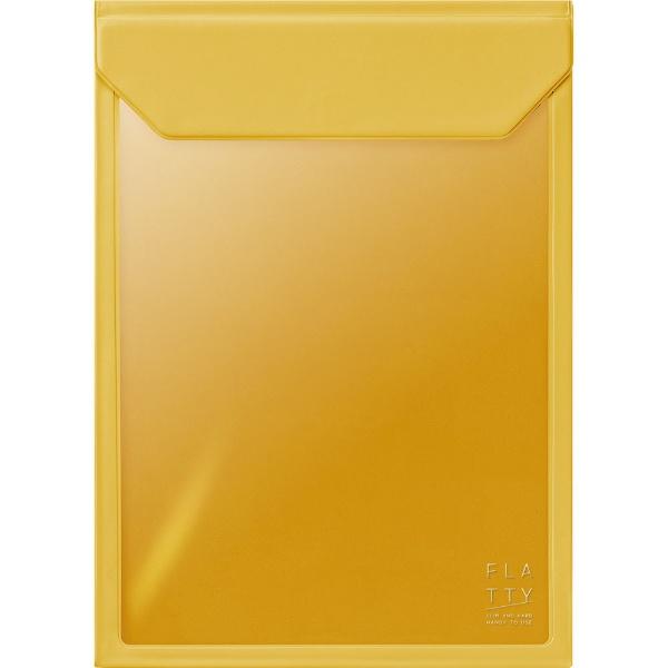 キングジムKINGJIMFLATTYA4サイズ縦黄色