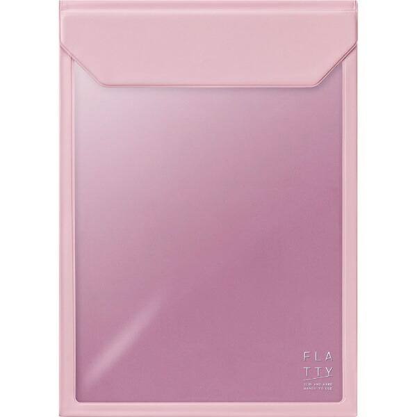 キングジムKINGJIMFLATTYA4サイズ縦ピンク