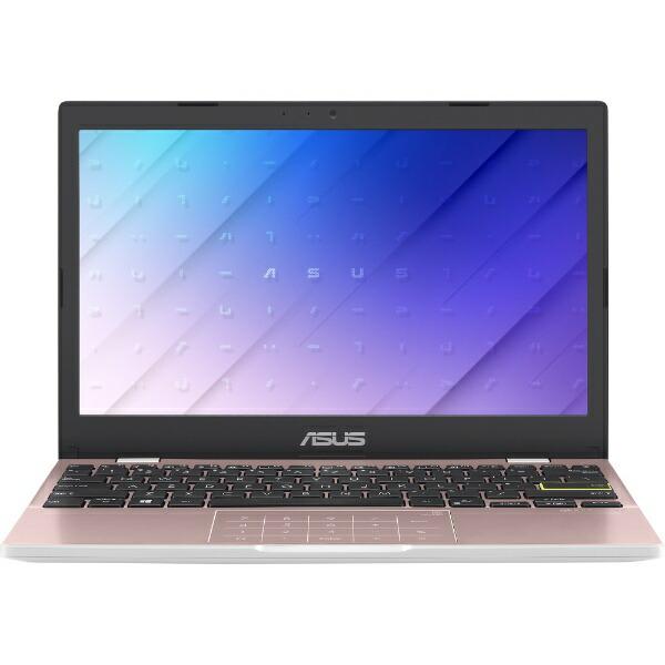 ASUSエイスースノートパソコンローズピンクE210MA-GJ002P[11.6型/intelCeleron/メモリ:4GB/eMMC:64GB/2020年9月モデル]【rb_winupg】