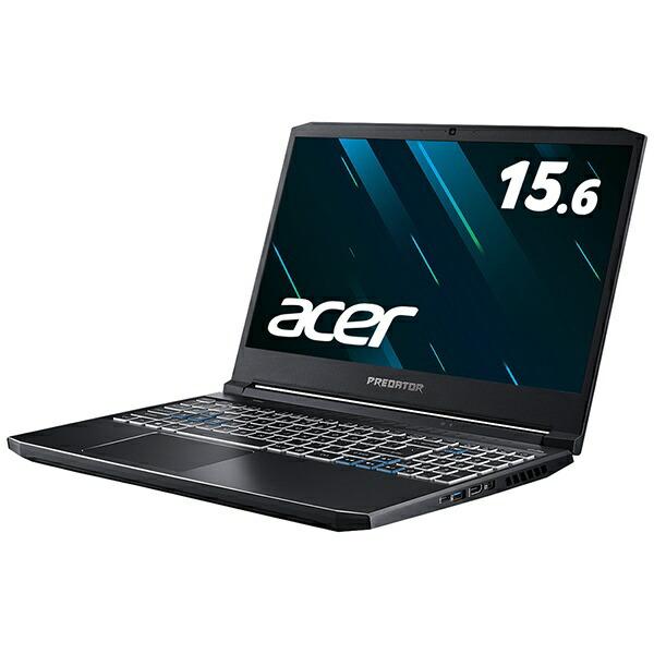 ACERエイサーノートパソコンPredatorHelios300アビサルブラックPH315-53-A73Y7[15.6型/intelCorei7/SSD:512GB/メモリ:32GB/2020年8月モデル]