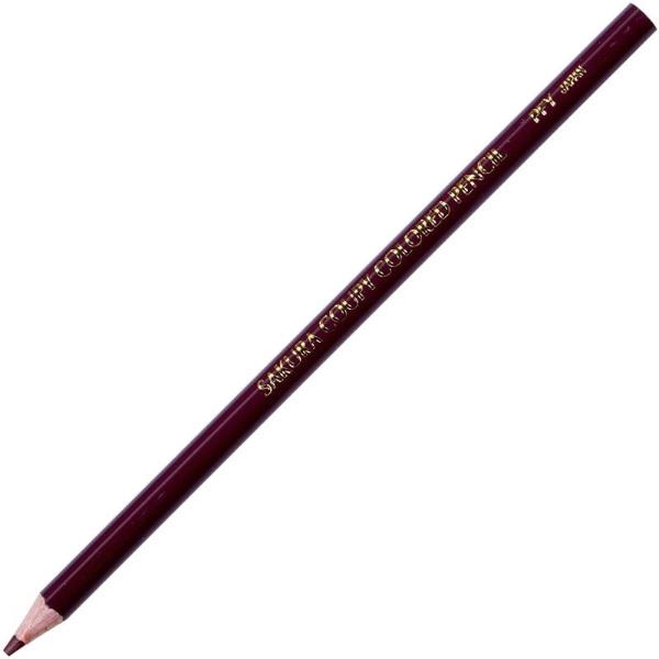 サクラクレパスSAKURACOLORPRODUCTクーピー色鉛筆茶色PFYバラ#12