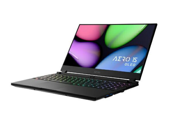 GIGABYTEギガバイトSB-8JP5130SPゲーミングノートパソコンAERO15(4K有機EL)[15.6型/intelCorei7/SSD:512GB/メモリ:16GB/2020年8月モデル]