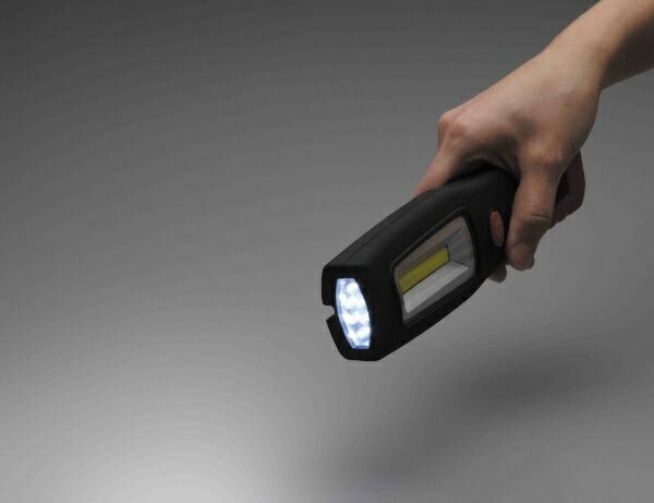 セーブインダストリーSAVE-INDUSTRYCOBLEDワークライトレッドレッドSV-5660[LED/単3乾電池×3]