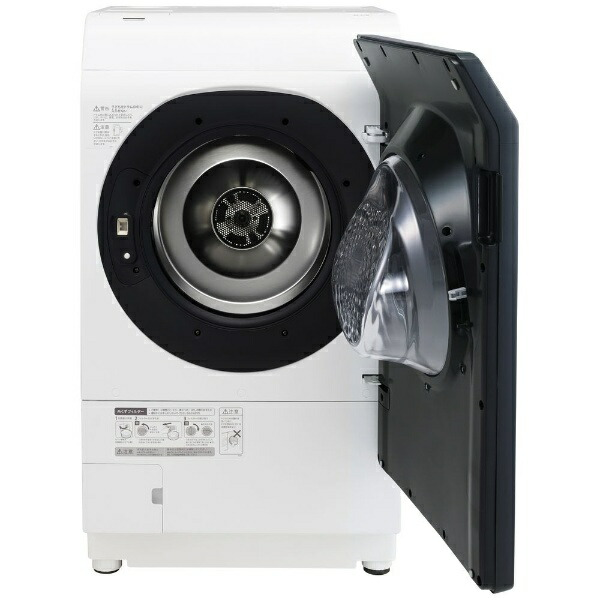 シャープSHARPドラム式洗濯乾燥機シルバー系ES-W113-SR[洗濯11.0kg/乾燥6.0kg/右開き][ドラム式洗濯機11kg]