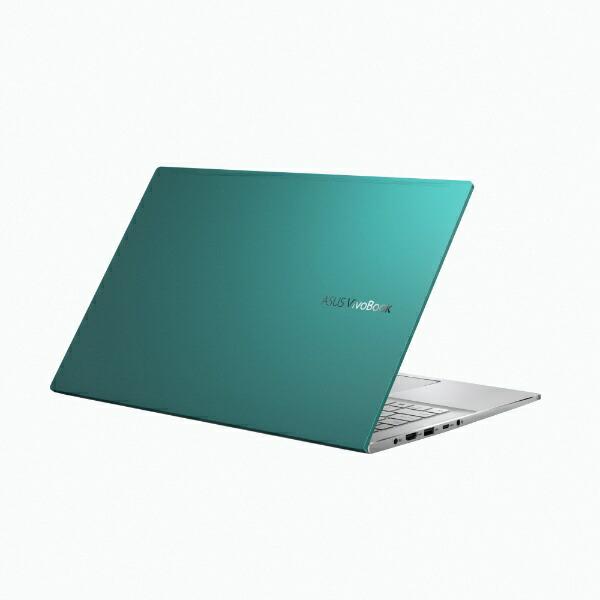 ASUSエイスースノートパソコンVivoBookS15ガイアグリーンM533IA-BQ0GRT[15.6型/AMDRyzen7/SSD:1TB/メモリ:16GB/2020年9月モデル]