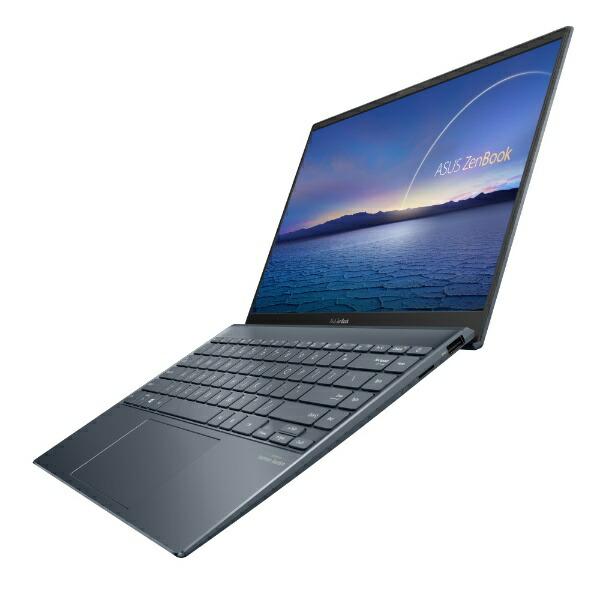 ASUSエイスースUM425IA-AM016TSノートパソコンZenBook14UM425IAパイングレー[14.0型/AMDRyzen7/SSD:512GB/メモリ:16GB/2020年9月モデル][14インチoffice付き新品windows10]
