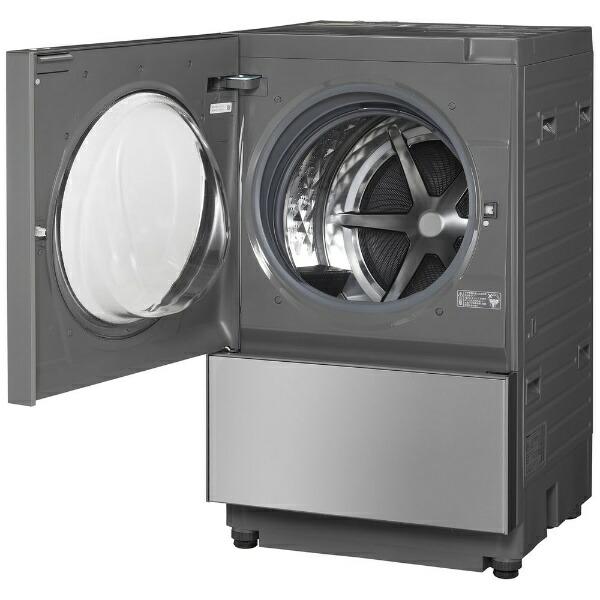 パナソニックPanasonicドラム式洗濯乾燥機Cuble(キューブル)プレミアムステンレスNA-VG2500L-X[洗濯10.0kg/乾燥5.0kg/ヒーター乾燥(排気タイプ)/左開き][洗濯機10kg]