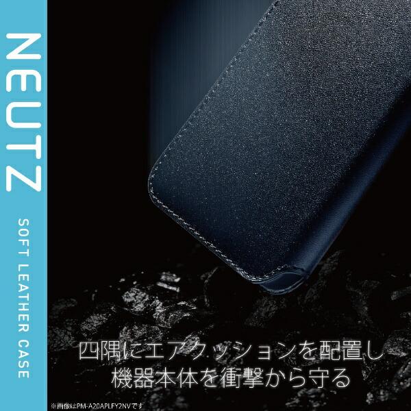 エレコムELECOMiPhone12/12Pro6.1インチ対応レザーケース手帳型NEUTZ磁石付きブラウン