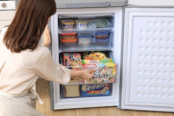 アイリスオーヤマIRISOHYAMA冷凍庫グレーKUSD-9B-H[1ドア/右開きタイプ/85L]