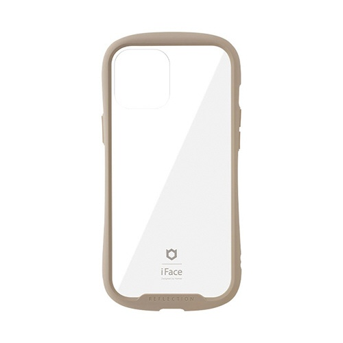 HAMEEハミィiPhone12ProMax6.7インチ対応iFaceReflection強化ガラスクリアケース