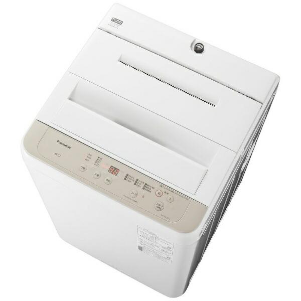 パナソニックPanasonic全自動洗濯機FシリーズニュアンスベージュNA-F60B14-C[洗濯6.0kg/乾燥機能無/上開き]