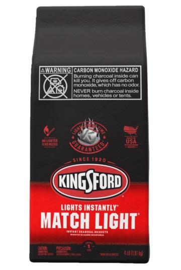 キングスフォードBBQ用炭マッチライトチャコール(1.81kg)
