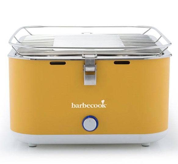 BARBECOOK卓上コンパクトチャコールグリルカルロ(H435x335x235mm/イエロー)2235925000