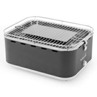 Barbecookバーベクック卓上コンパクトチャコールグリルカルロ(H435x335x235mm/アーバングレー)2235915000