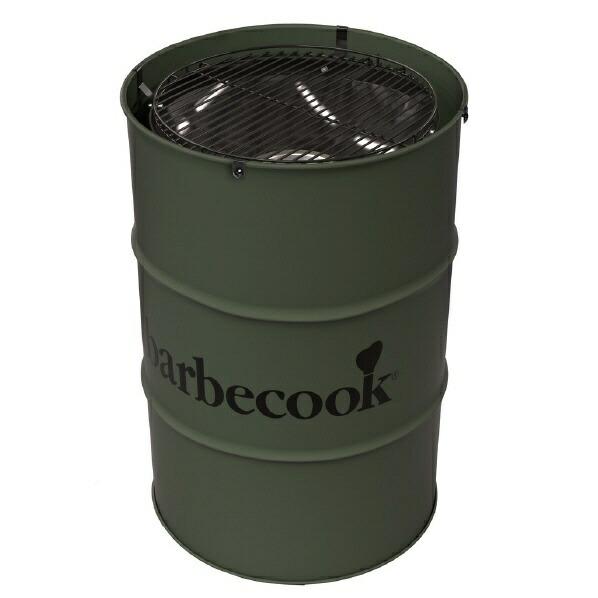 BARBECOOKエドソンドラム缶型バーベキューグリル(φ47.5×H89cm/モスグリーン)2236030000