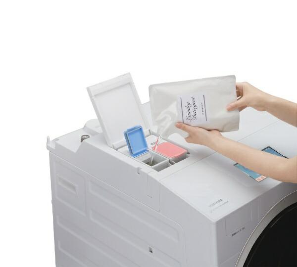 東芝TOSHIBAドラム式洗濯乾燥機ZABOON(ザブーン)グランホワイトTW-127X9L-W[洗濯12.0kg/乾燥7.0kg/ヒートポンプ乾燥/左開き][ドラム式洗濯機12kg]