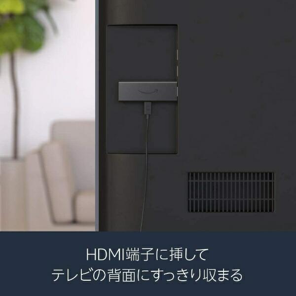 AmazonアマゾンFireTVStick-Alexa対応音声認識リモコン付属(ストリーミングメディアプレーヤー)ブラックB07ZZY2DFW