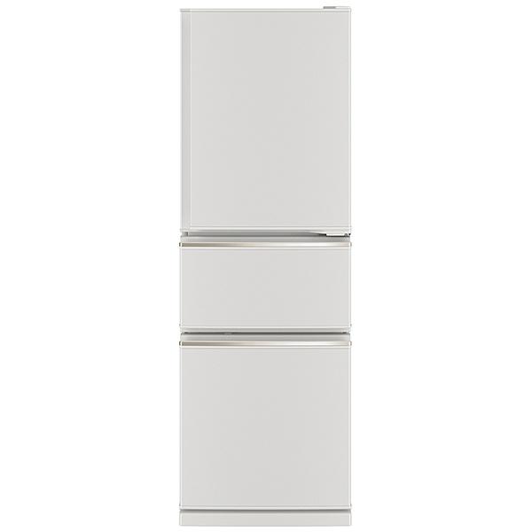 三菱MitsubishiElectric《基本設置料金セット》冷蔵庫CXシリーズマットホワイトMR-CX27F-W[3ドア/右開きタイプ/272L]【zero_emi】