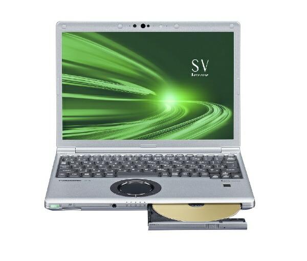 パナソニックPanasonicCF-SV9ADMQRノートパソコンレッツノートSVシリーズブラック&シルバー[12.1型/intelCorei5/SSD:256GB/メモリ:16GB/2020年10月モデル]