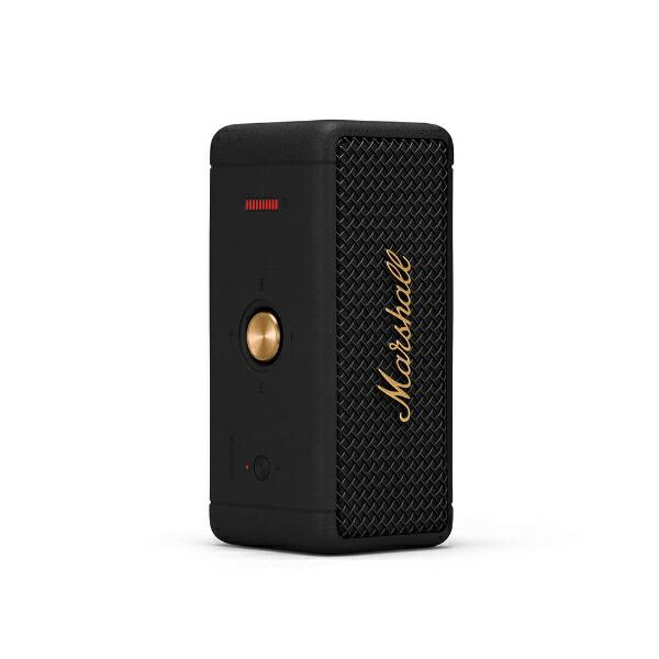 MarshallマーシャルブルートゥーススピーカーEMBERTON-BLACK-AND-BRASSブラック&ブラス[Bluetooth対応/防水]