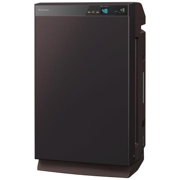 ダイキンDAIKIN除加湿空気清浄機ビターブラウンMCZ70XBK-T[適用畳数:32畳/最大適用畳数(加湿):18畳/PM2.5対応]【point_rb】