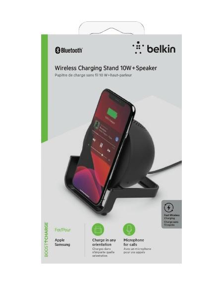 BELKINベルキンブルートゥーススピーカーAUF001DQBKブラック[Bluetooth対応]