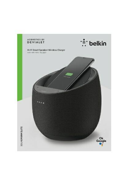 BELKINベルキンブルートゥーススピーカーG1S0001DQ-BLKJPブラック