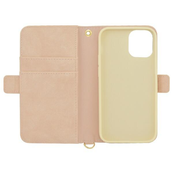 ラスタバナナRastaBananaiPhone12mini5.4インチ対応花柄手帳型ケースライトピンク5605IP054BO