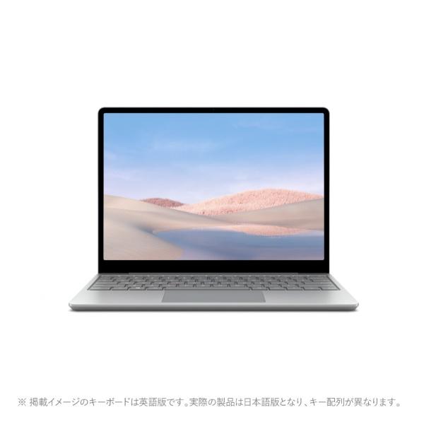 マイクロソフトMicrosoft1ZO-00020SurfaceLaptopGo(サーフェスラップトップゴー)プラチナ[12.4型/intelCorei5/eMMC:64GB/メモリ:4GB/2020年10月モデル][12.4インチoffice付き新品windows10]