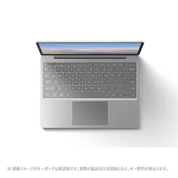 マイクロソフトMicrosoftTHJ-00020SurfaceLaptopGo(サーフェスラップトップゴー)プラチナ[12.4型/intelCorei5/SSD:256GB/メモリ:8GB/2020年10月モデル][12.4インチoffice付き新品windows10]