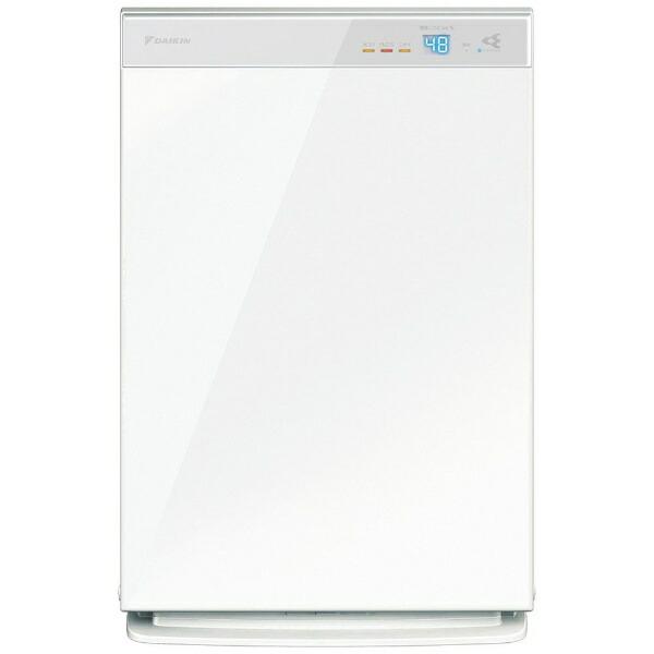 ダイキンDAIKIN加湿空気清浄機ホワイトMCK70XBK-W[適用畳数:31畳/最大適用畳数(加湿):18畳/PM2.5対応]【point_rb】