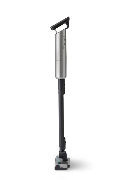 ツインバードTWINBIRD充電式コードレススティック型クリーナーメタリックグレーTC-E263GY[紙パック式/コードレス]