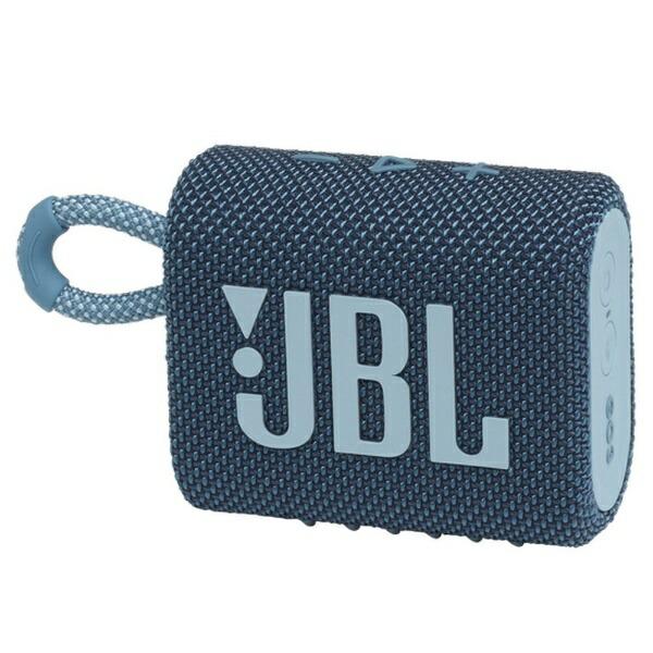 JBLジェイビーエルブルートゥーススピーカーブルーJBLGO3BLU[Bluetooth対応/防水]