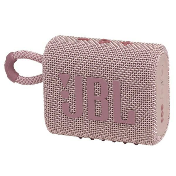 JBLジェイビーエルブルートゥーススピーカーピンクJBLGO3PINK[Bluetooth対応/防水]