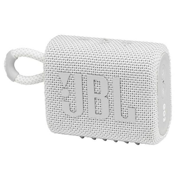 JBLジェイビーエルブルートゥーススピーカーホワイトJBLGO3WHT[Bluetooth対応]