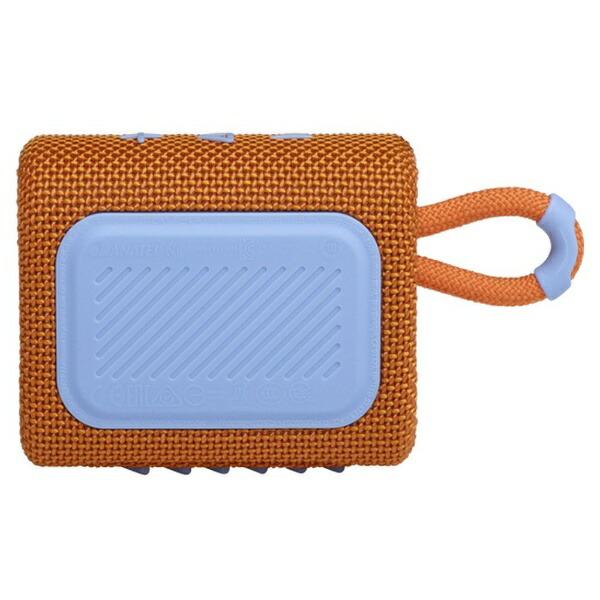 【2020年11月27日発売】JBLジェイビーエルブルートゥーススピーカーオレンジJBLGO3ORG[Bluetooth対応/防水]
