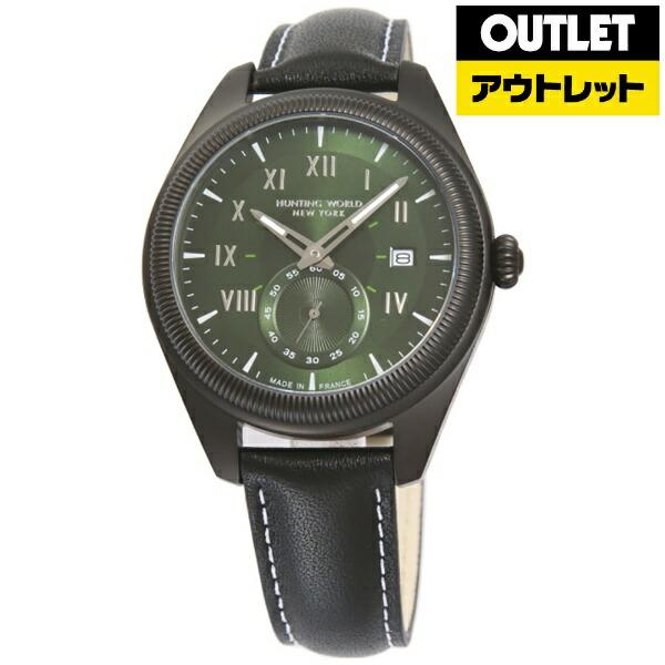 ハンティングワールドHUNTINGWORLD【アウトレット品】腕時計HWM002GRBK【並行輸入品】【未使用開封品(メーカー保証なし)箱なし】