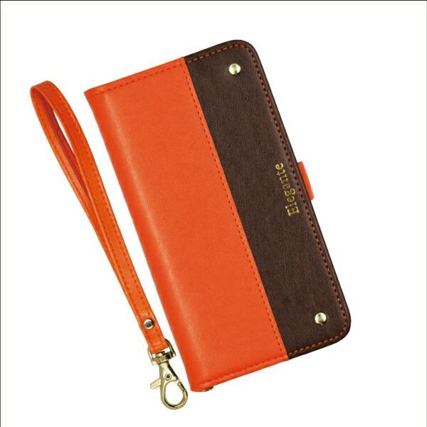 近通KintsuエレガンテツートンiPhone11Pro対応手帳型ケースオレンジ・ブラウンオレンジ・ブラウンEL-IP11P04OB