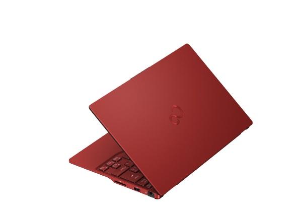 富士通FUJITSUFMVU90E3RノートパソコンLIFEBOOKUH90/E3ガーネットレッド[13.3型/intelCorei7/SSD:512GB/メモリ:8GB/2020年冬モデル]