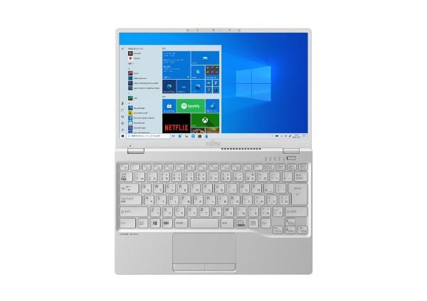 富士通FUJITSUFMVU90E3WノートパソコンLIFEBOOKUH90/E3シルバーホワイト[13.3型/intelCorei7/SSD:512GB/メモリ:8GB/2020年冬モデル]
