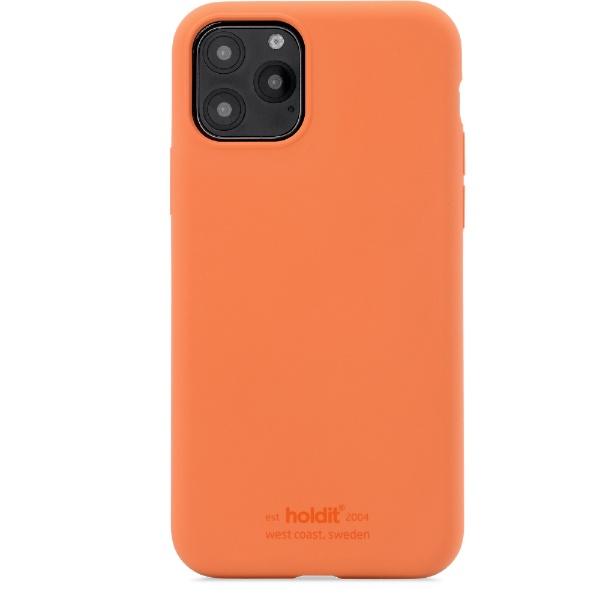 HOLDITホールディットiPhone11用ソフトタッチシリコーンケースオレンジHOLDITオレンジ