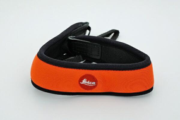 ライカLeica双眼鏡用ネオプレーンストラップ(ジューシーオレンジ)[ソウガンキョウヨウネオプレーンストラ]