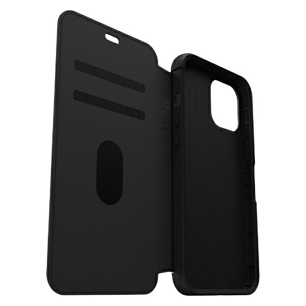 OTTERBOXオッターボックスiPhone12用ケースOtterBox-SymmetryLeatherFolioSeriesforiPhone12ProMax[Shadow]77-65622