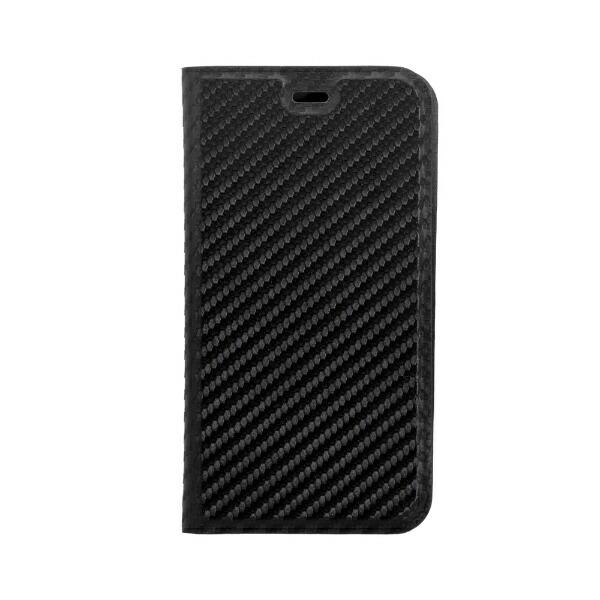 OWLTECHオウルテックiPhone12mini5.4インチ対応手帳型ケースカーボン柄