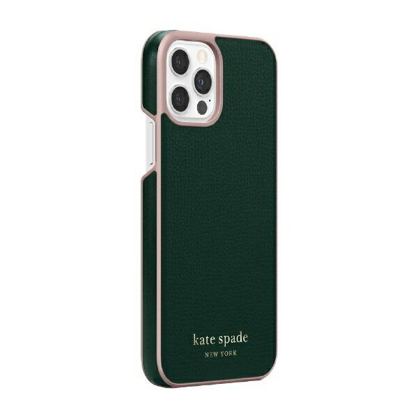ケイト・スペードニューヨークkatespadenewyorkiPhone12/12Pro6.1インチ対応KSNYWrapCaseグリーンKSIPH-165-GRPNK