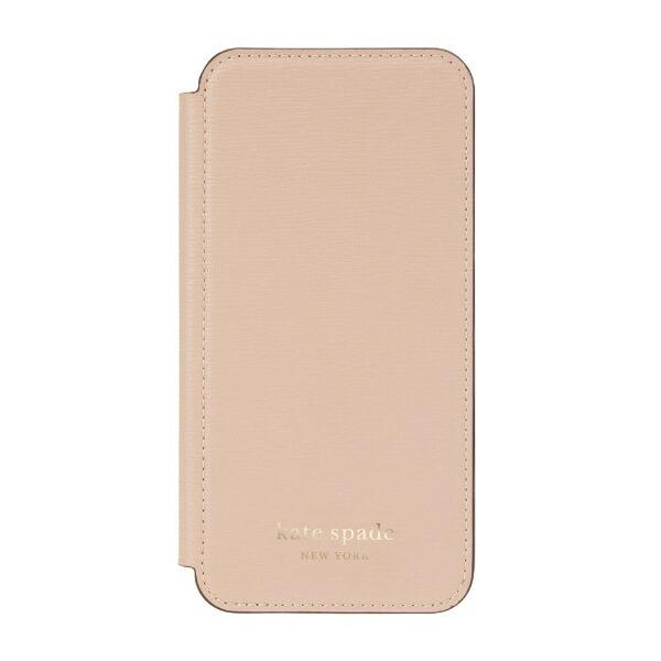 ケイト・スペードニューヨークkatespadenewyorkiPhone12ProMax6.7インチ対応KSNYFolioCaseペールKSIPH-170-PLVM