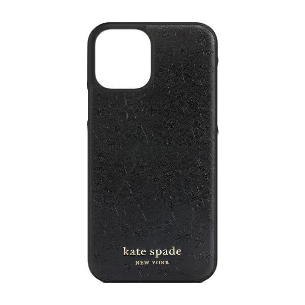 ケイト・スペードニューヨークkatespadenewyorkiPhone12/12Pro6.1インチ対応KSNYWrapCaseブラックKSIPH-165-CHBLK