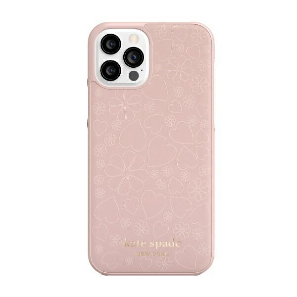 ケイト・スペードニューヨークkatespadenewyorkiPhone12/12Pro6.1インチ対応KSNYWrapCaseペールKSIPH-165-CHPVM